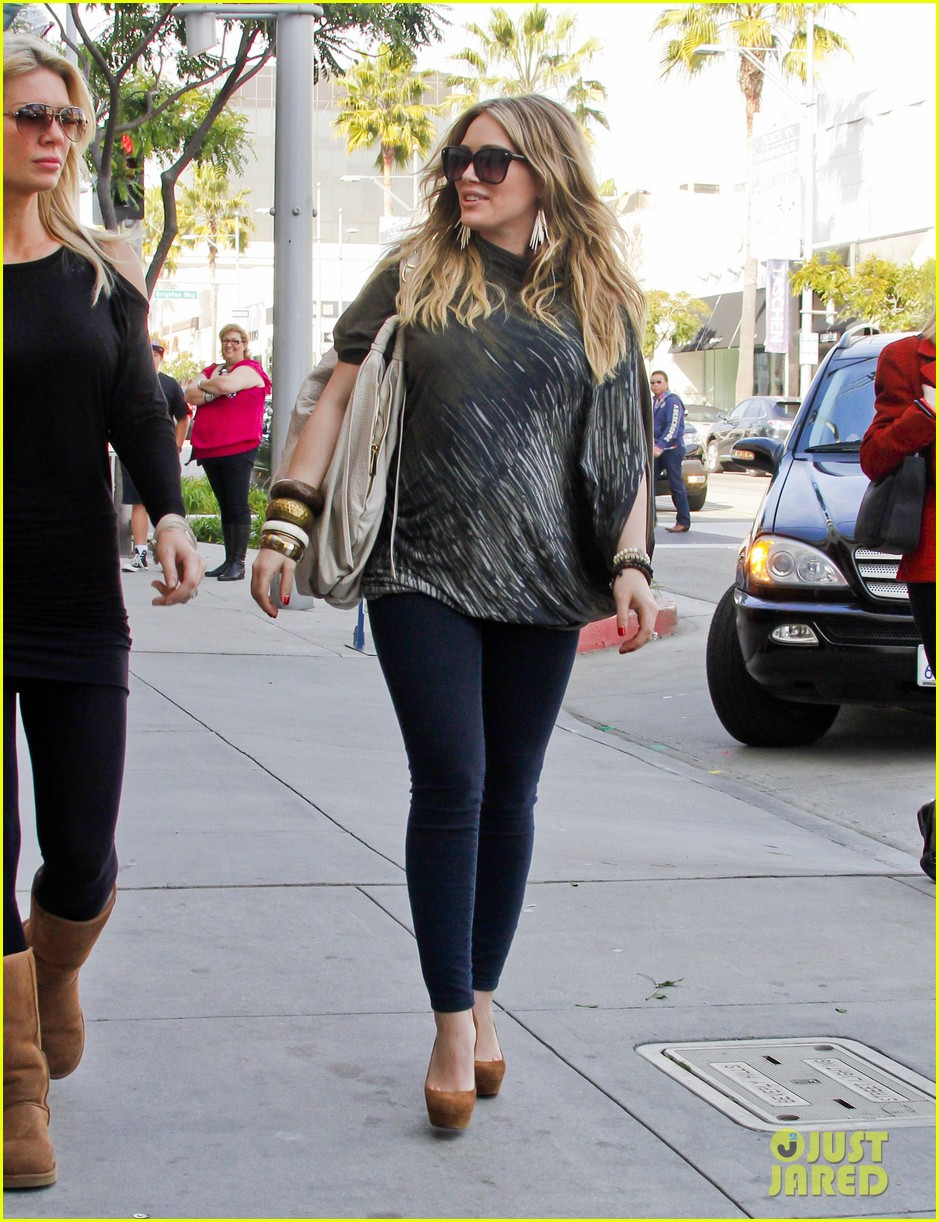 hilary duff mike comrie shopping 06