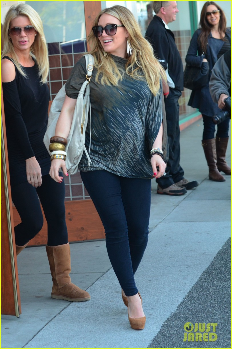 hilary duff mike comrie shopping 132613213