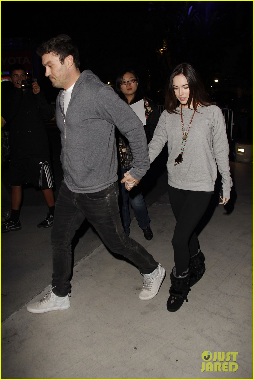 megan fox brian austin green lets go lakers 062612860