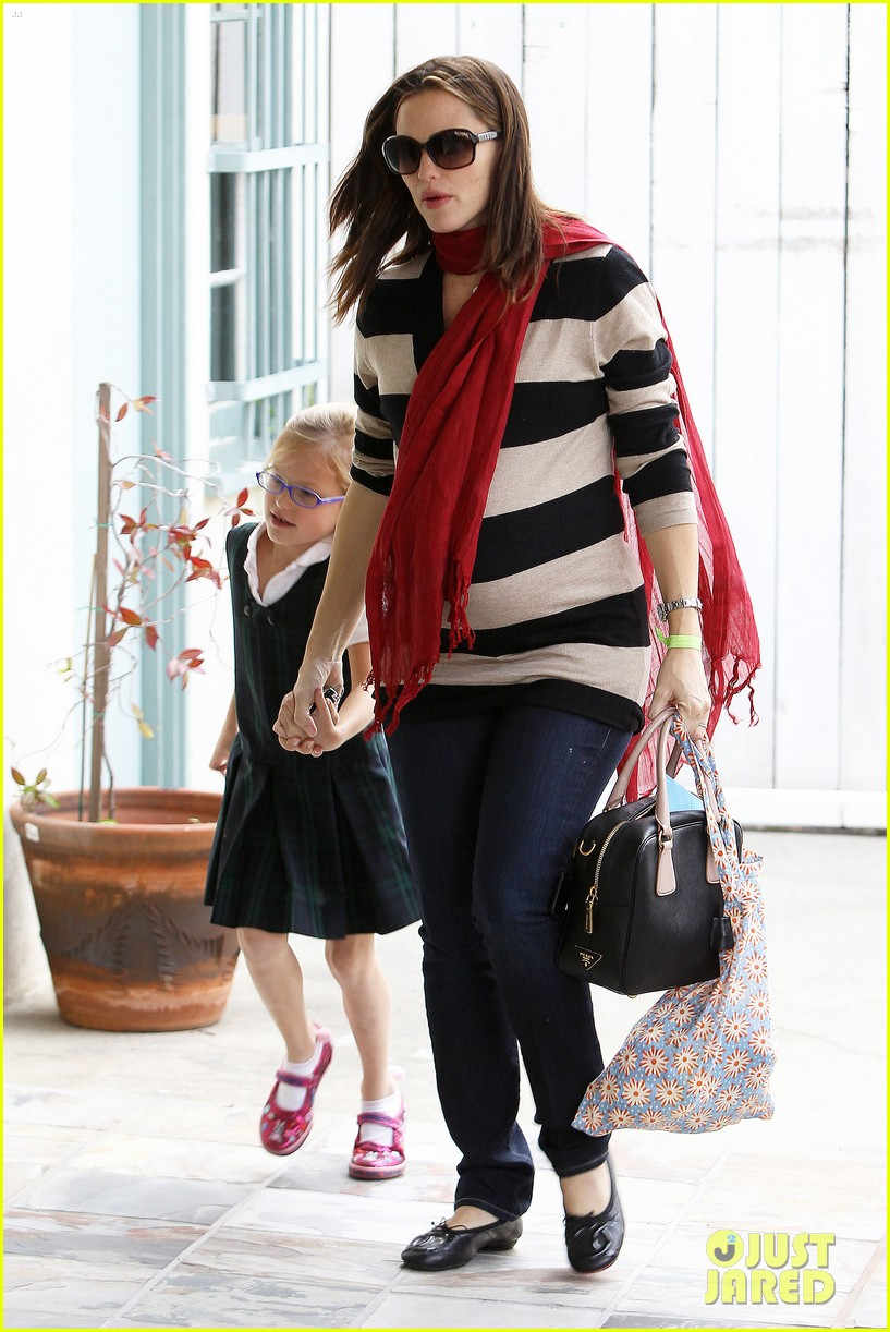 jennifer garner breakfast seraphina dad 12