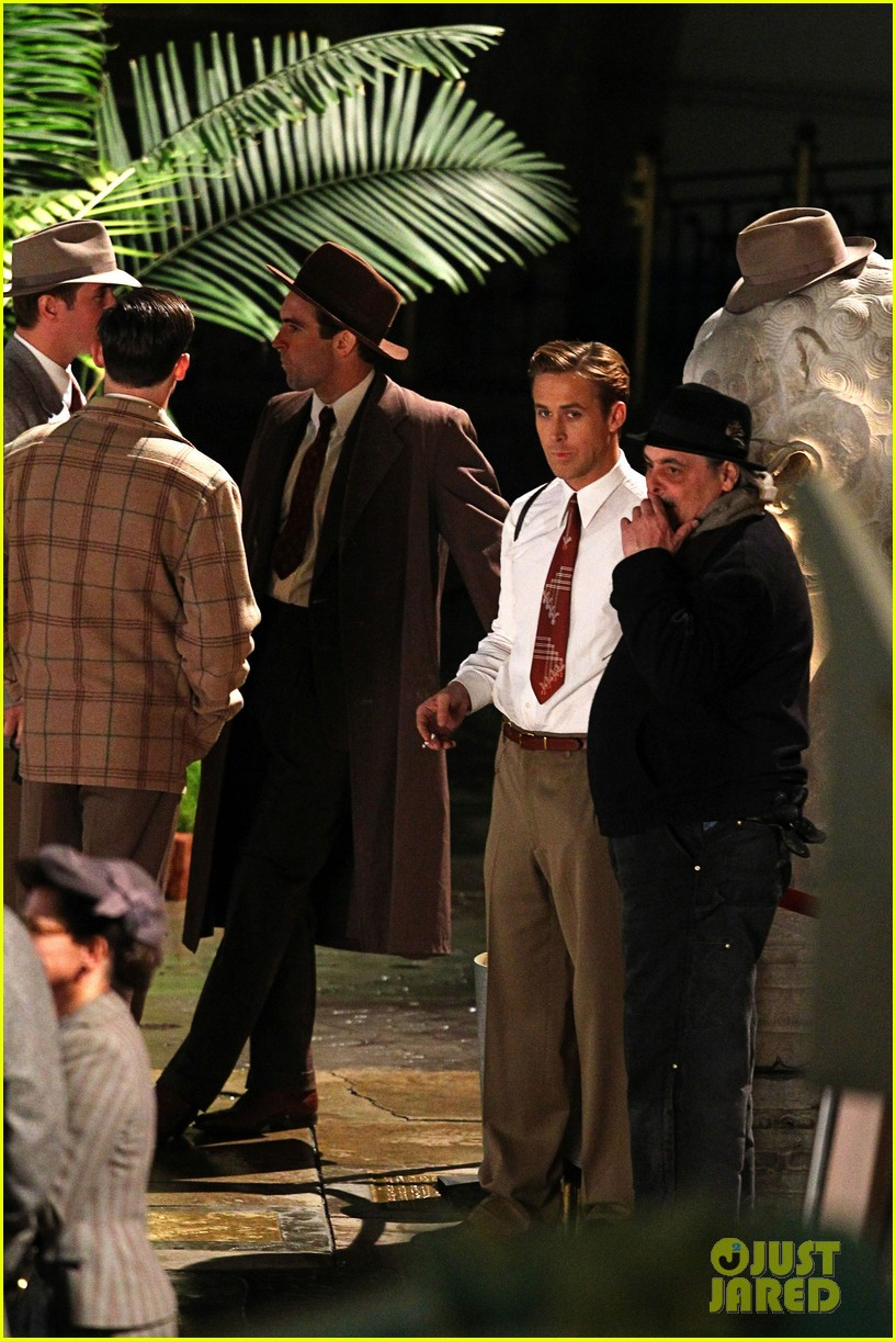 ryan gosling late night gangster squad 182608374