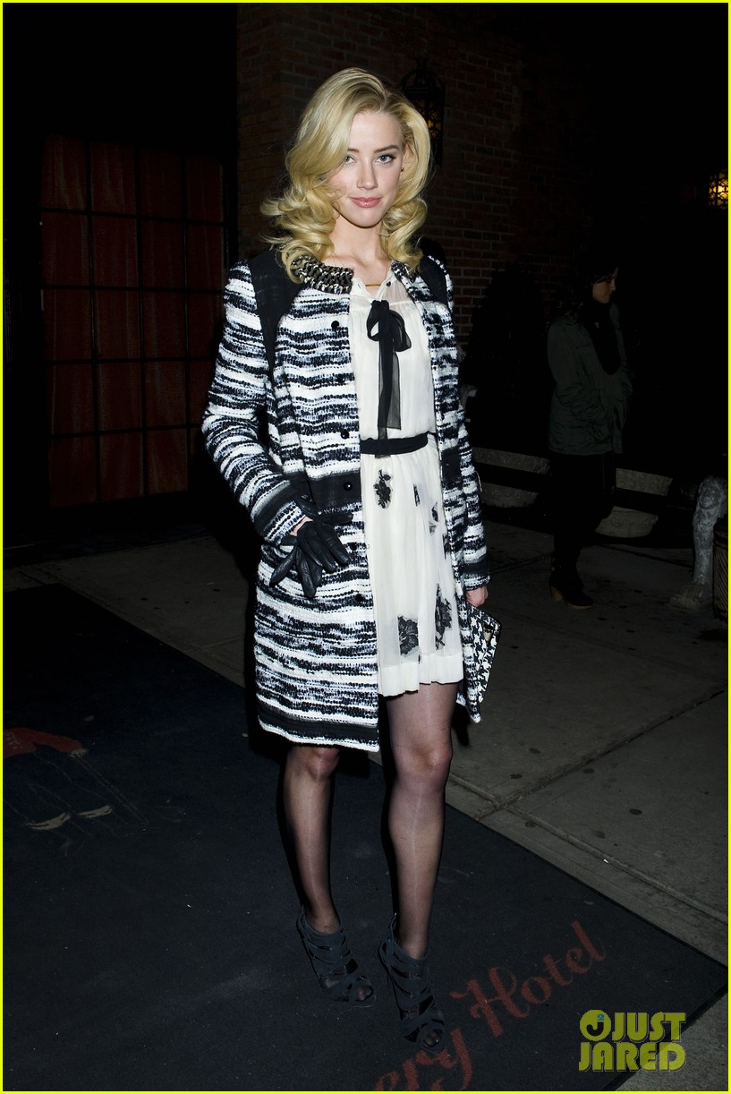 amber heard night out in new york 012609425
