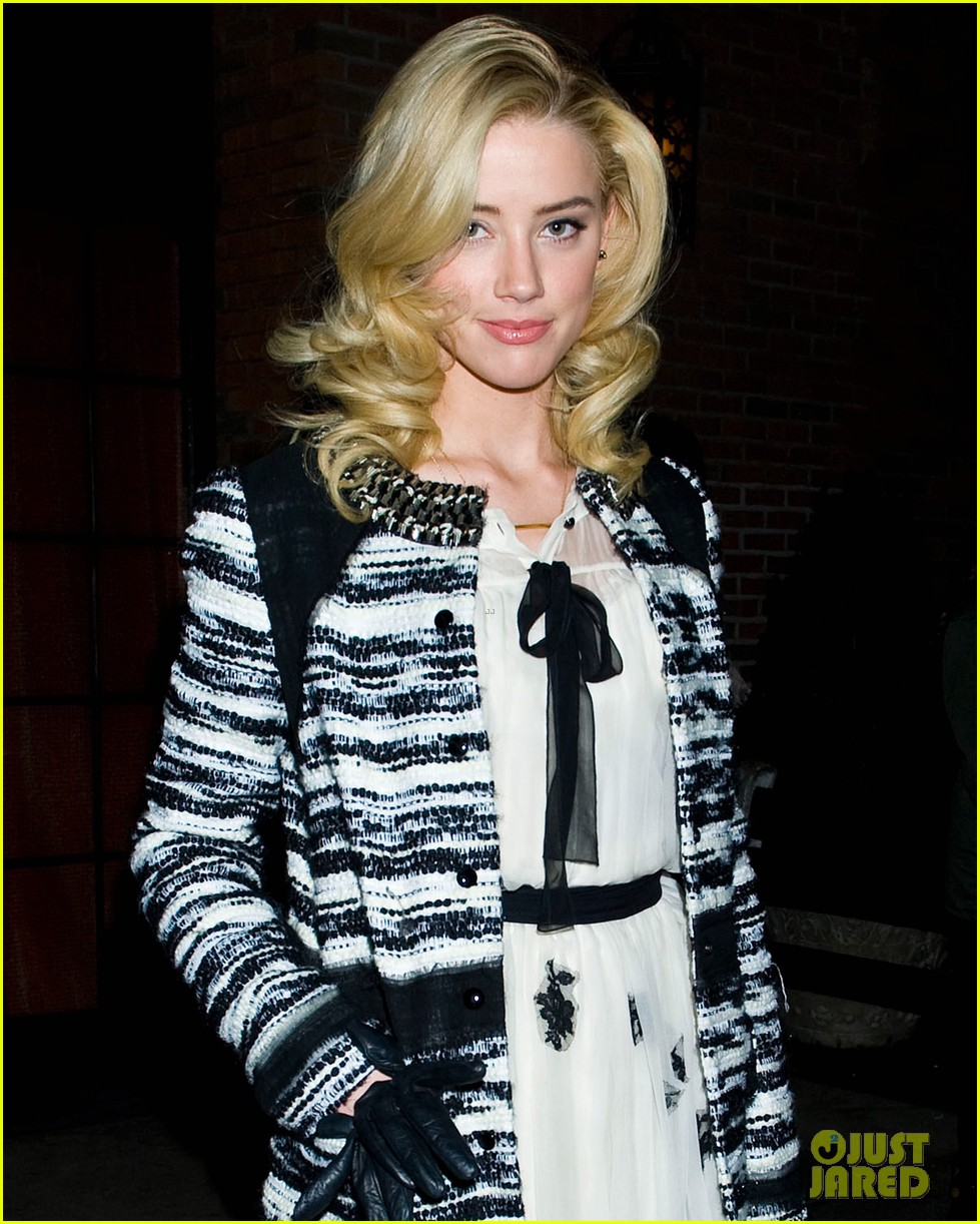 amber heard night out in new york 032609427