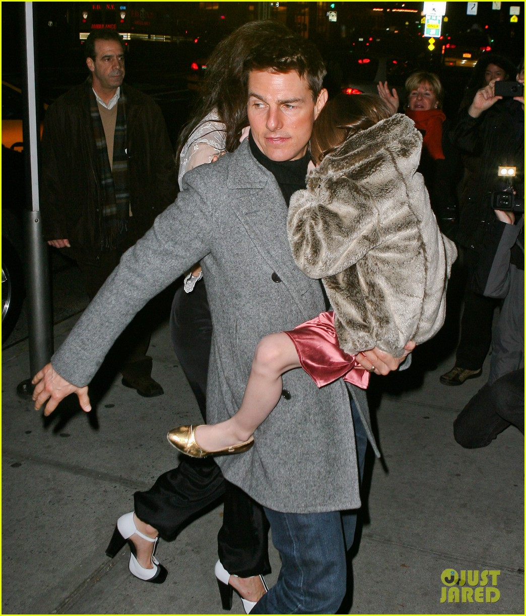 katie holmes tom cruise birthday night out 042610997