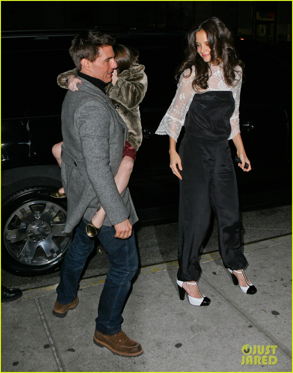 katie holmes tom cruise birthday night out 132611006