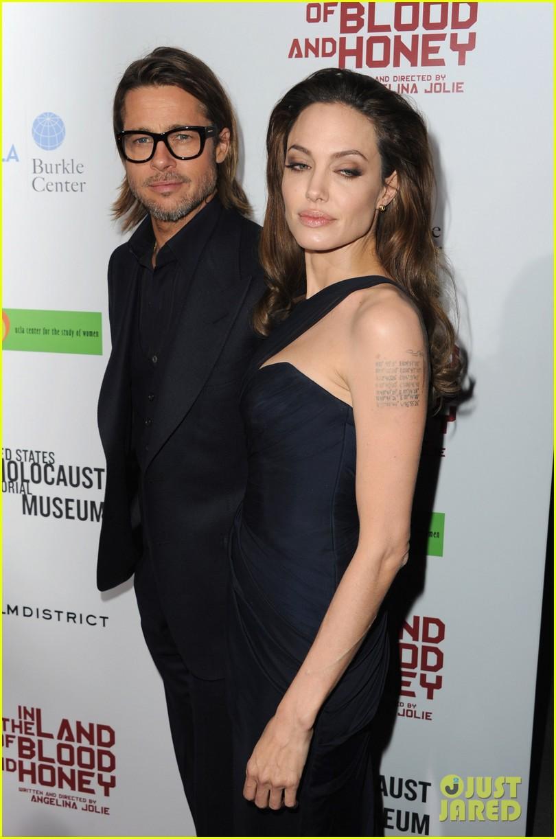 Angelina Jolie & Brad Pitt Blood & Honey LA Premiere