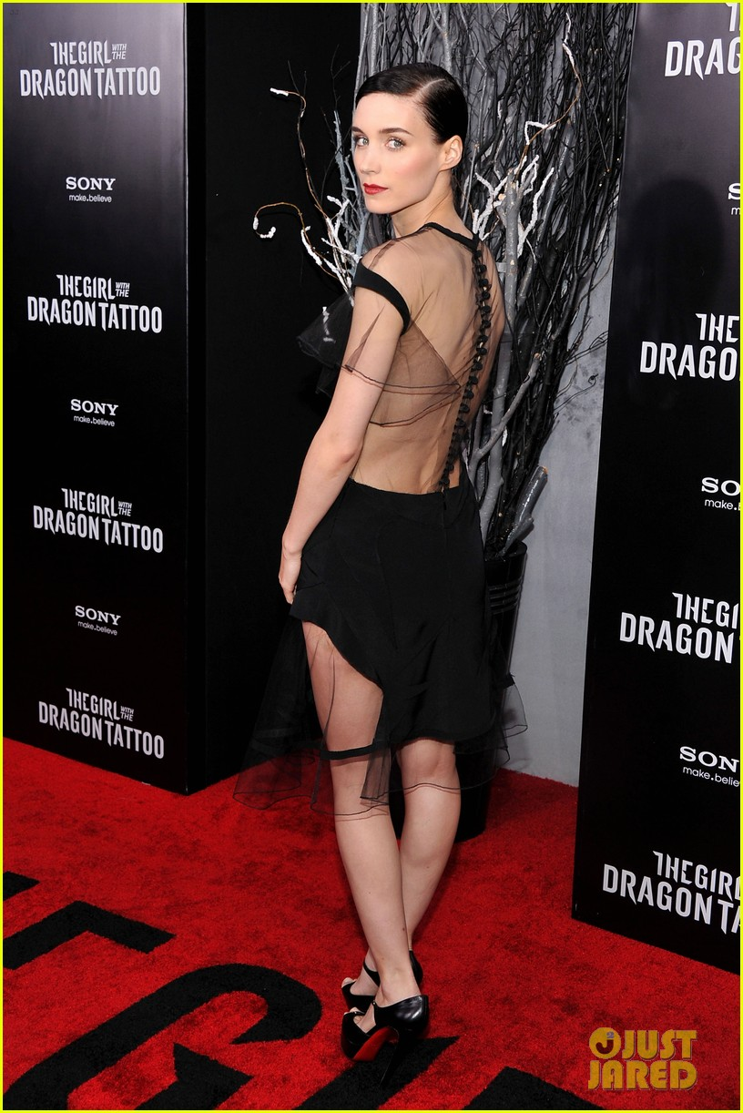 Daniel Craig Amp Rooney Mara Premiere Dragon Tattoo In Nyc