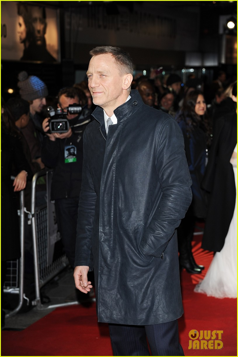 daniel craig rooney mara dragon tattoo premiere london 02