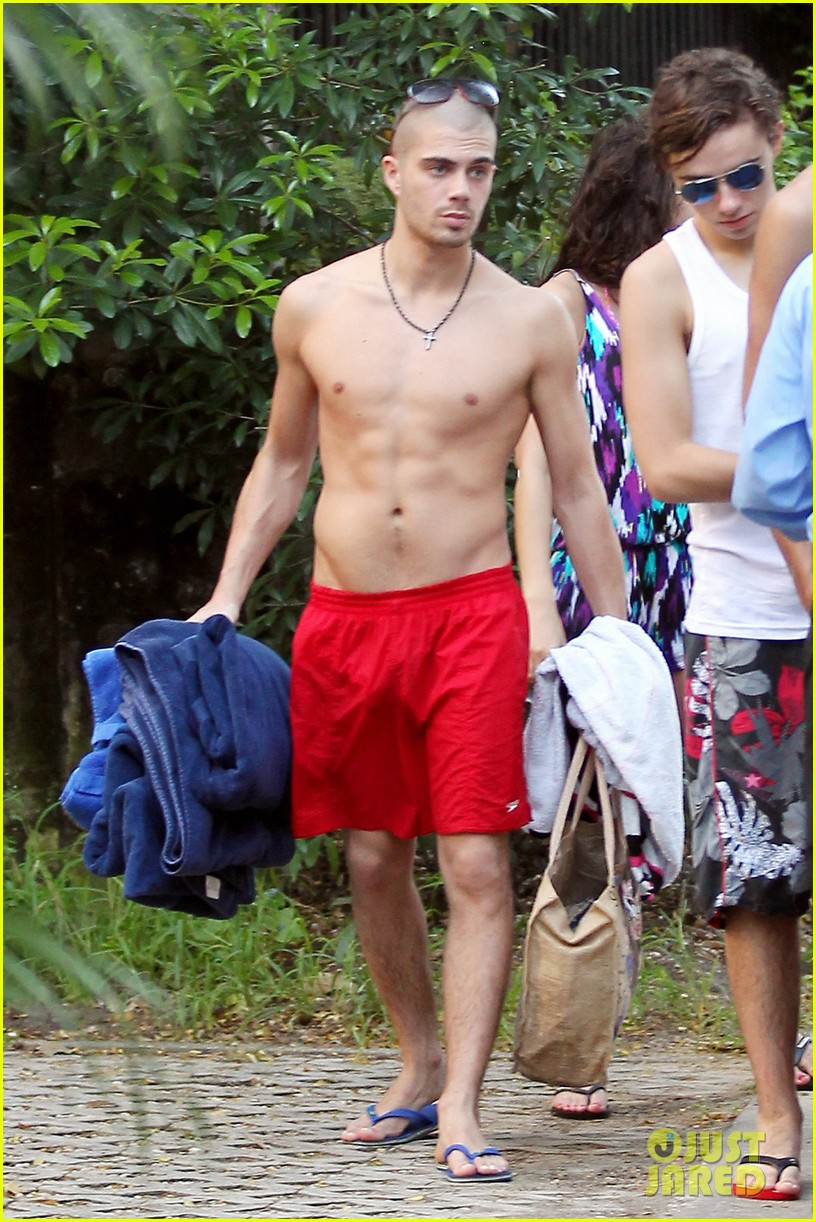 Max George: Shirtless ...
