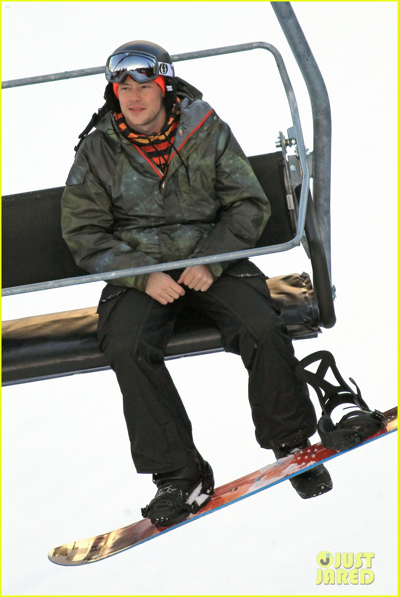 cory monteith snowboarding vancouver 05