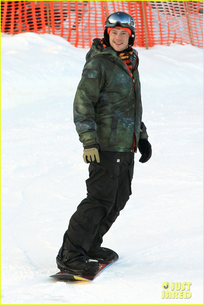 cory monteith snowboarding vancouver 07