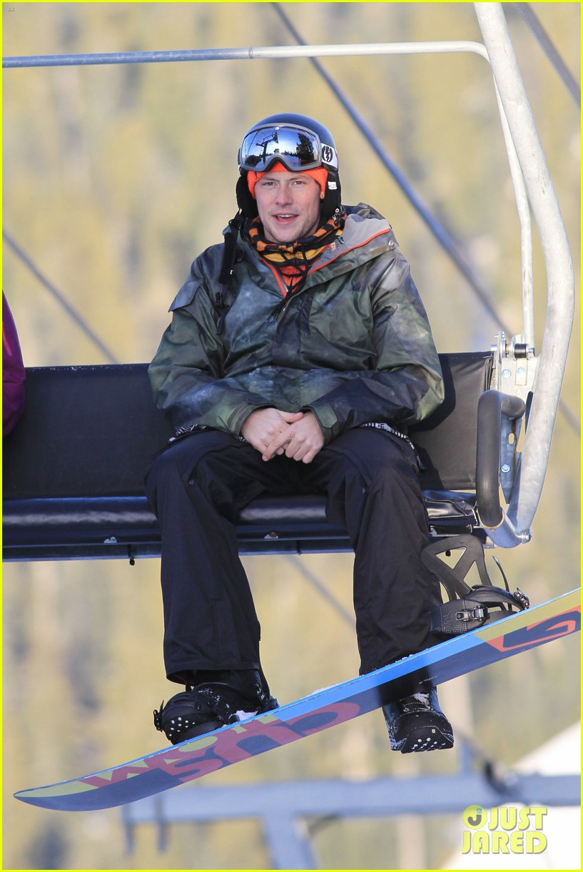 cory monteith snowboarding vancouver 09