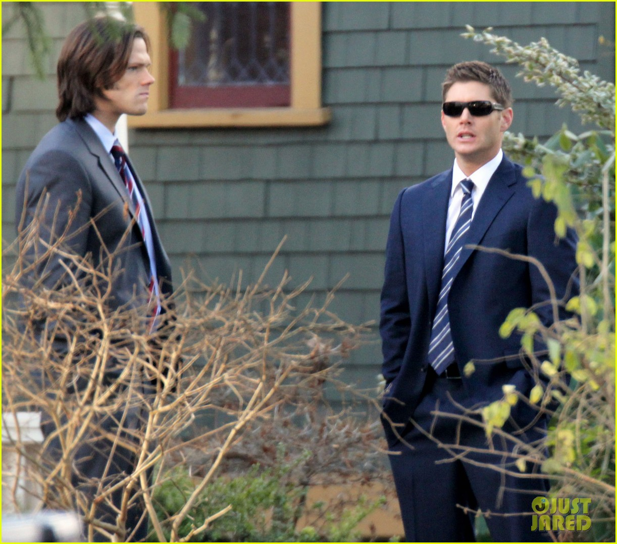 jared padalecki jansen supernatural set 052609588