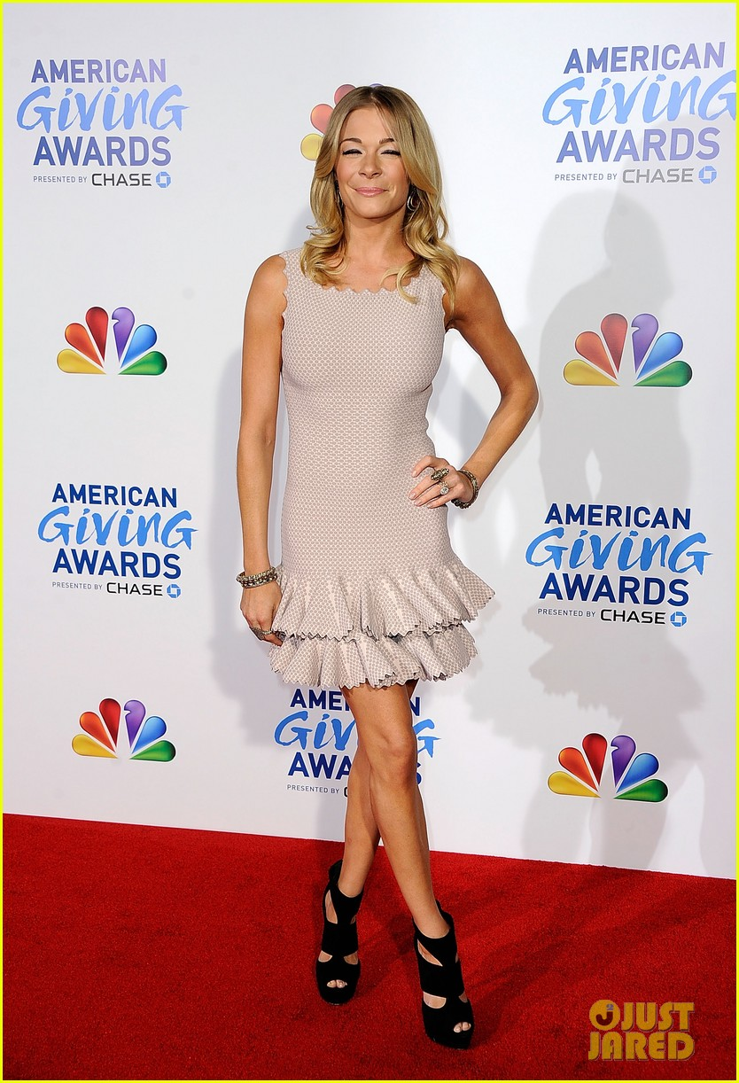 leann rimes american giving awards 07