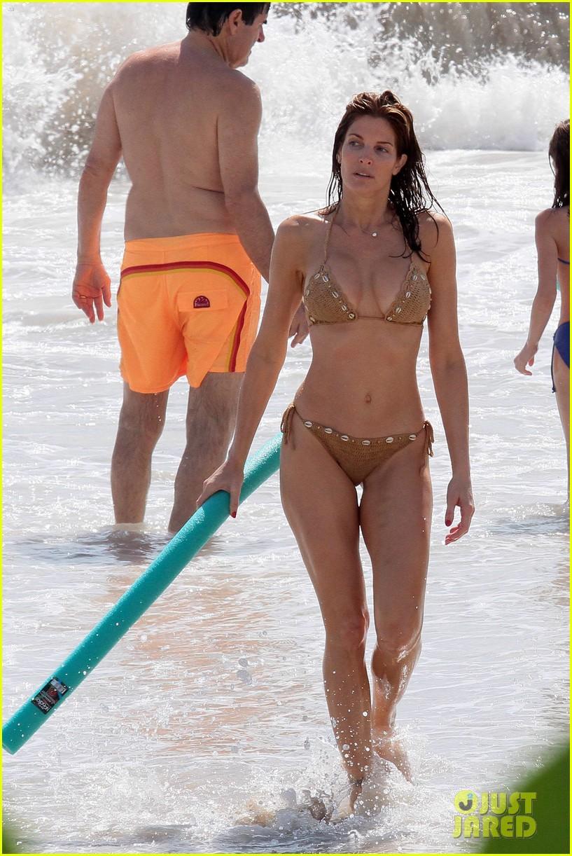 seymour bikini Stephanie and son