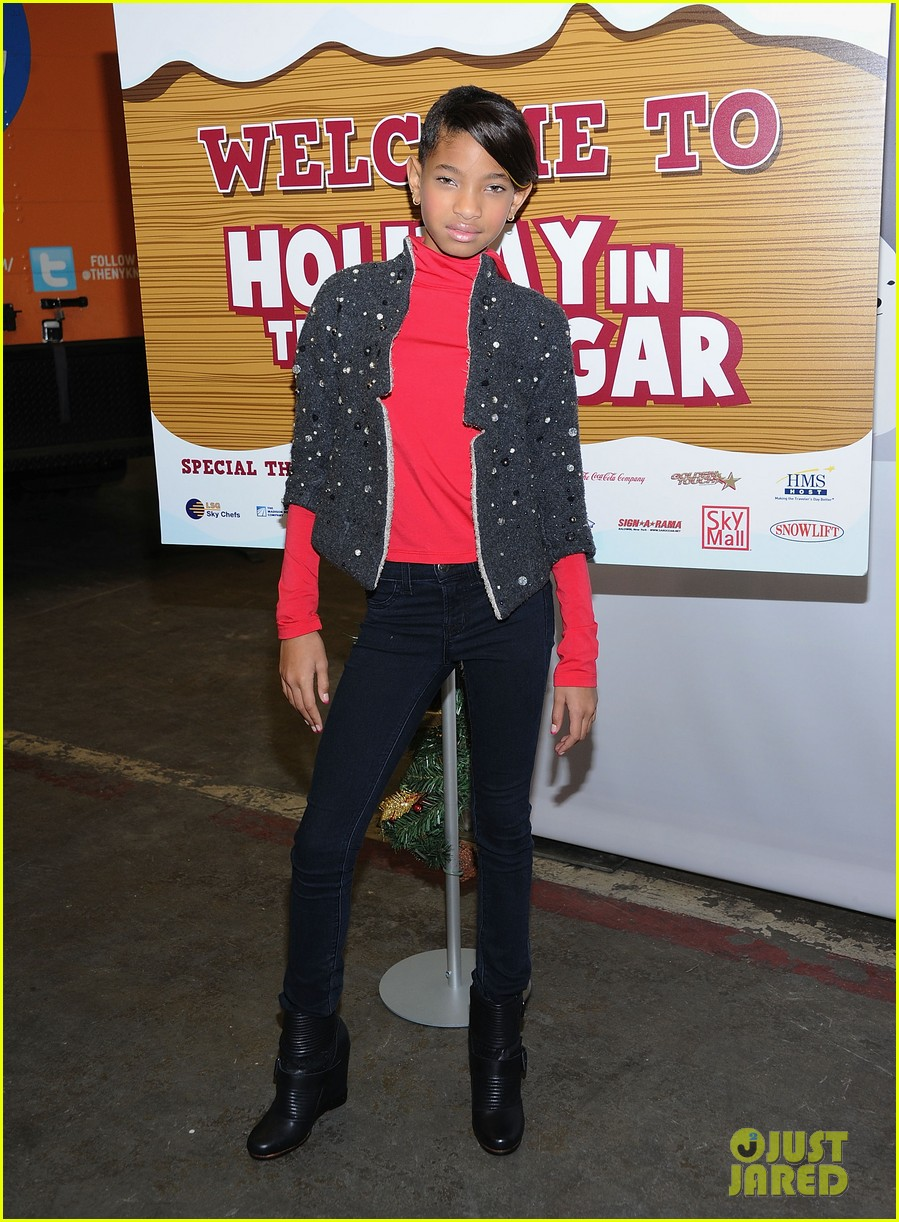 willow will smith holiday hangar 132607330