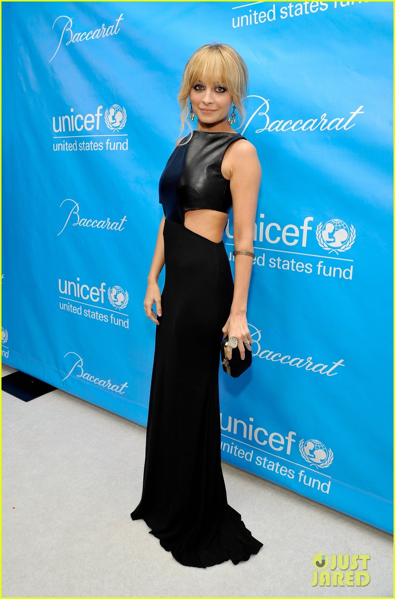 kate walsh nicole richie unicef ball 07