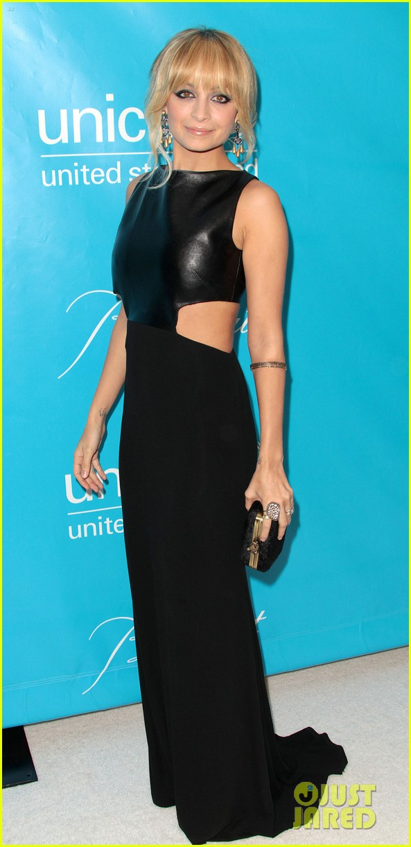 kate walsh nicole richie unicef ball 21