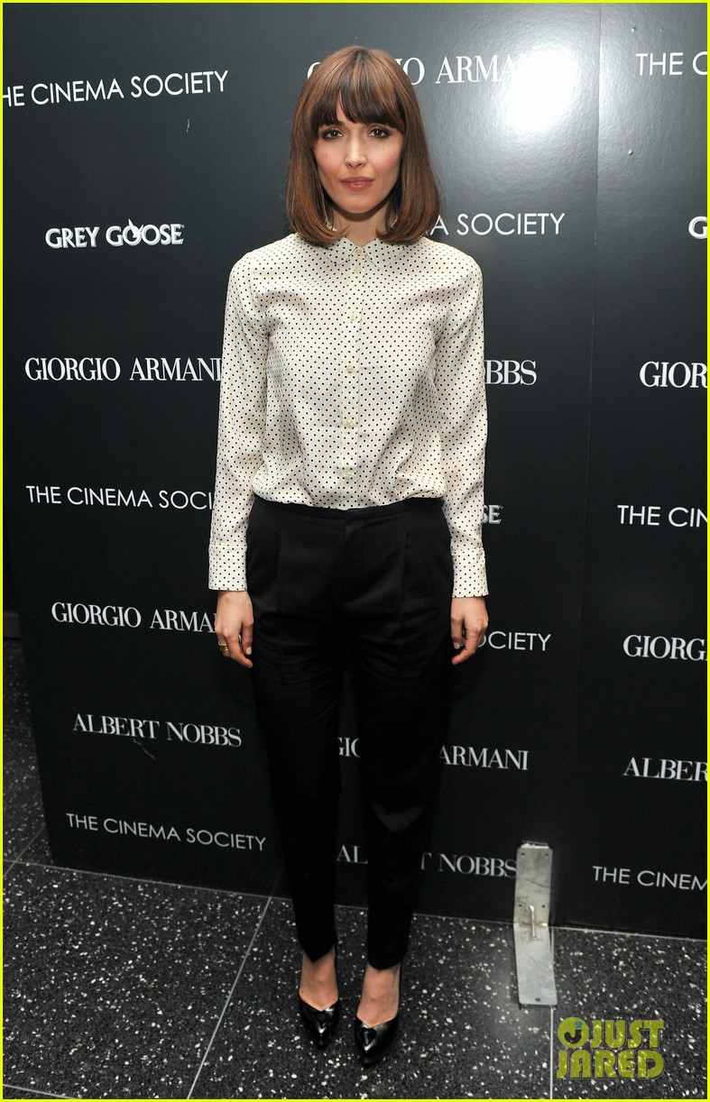 mia wasikowska rose byrne albert nobbs screening 022609806