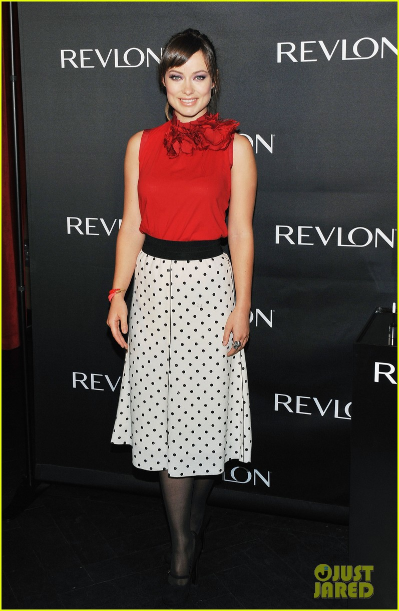 olivia wilde revlon announcement 02