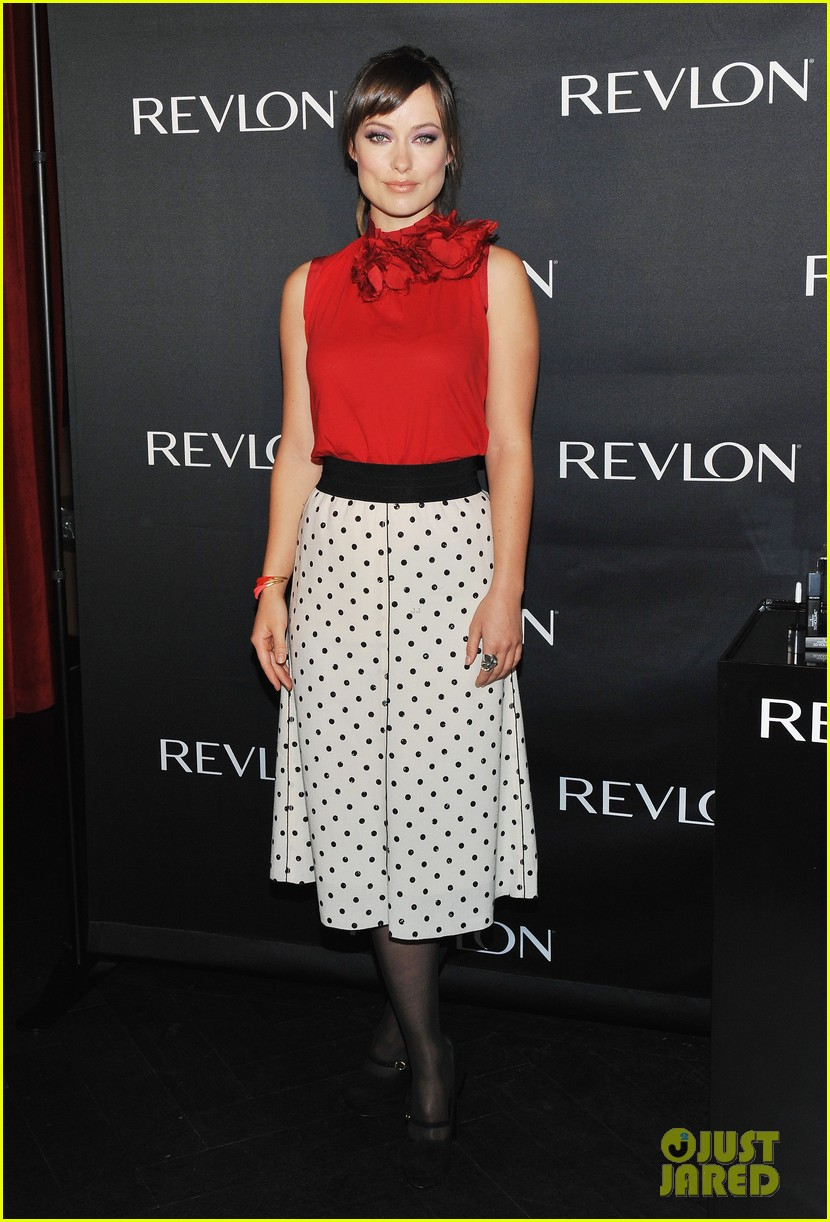 olivia wilde revlon announcement 05