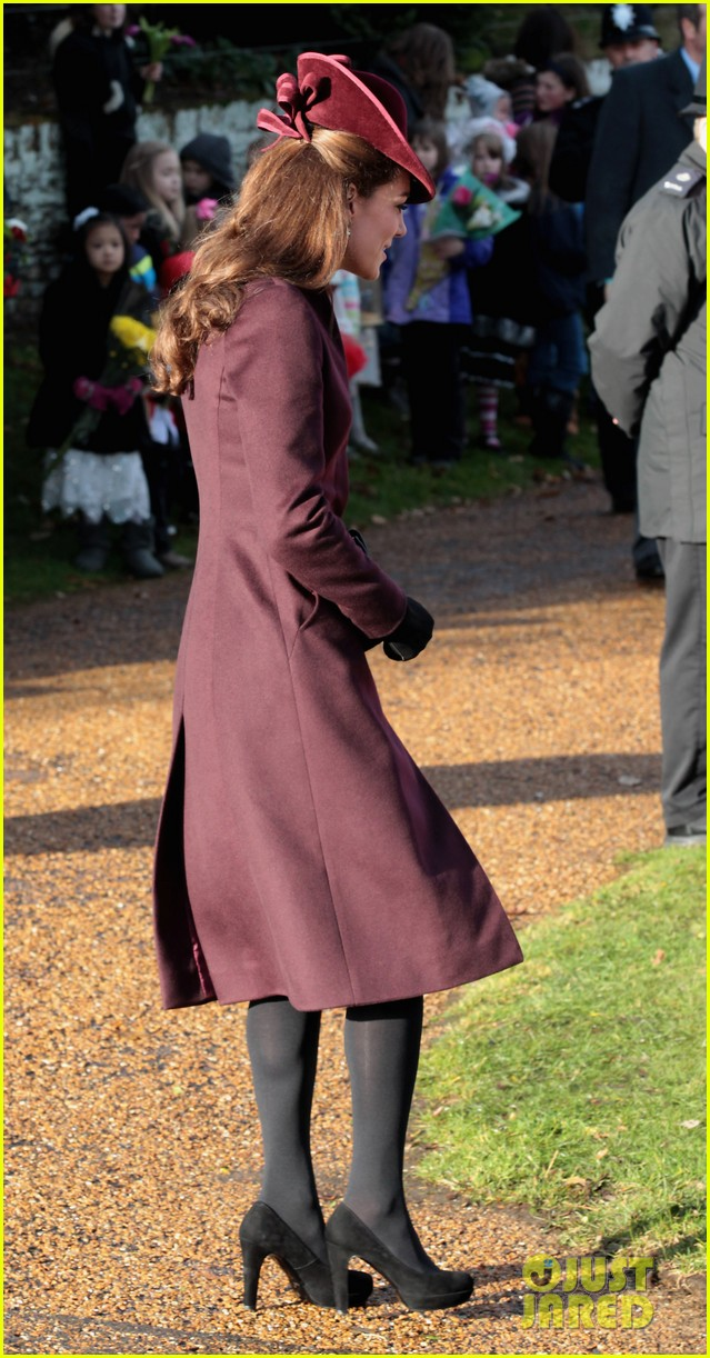 prince william kate christmas day service 012612429