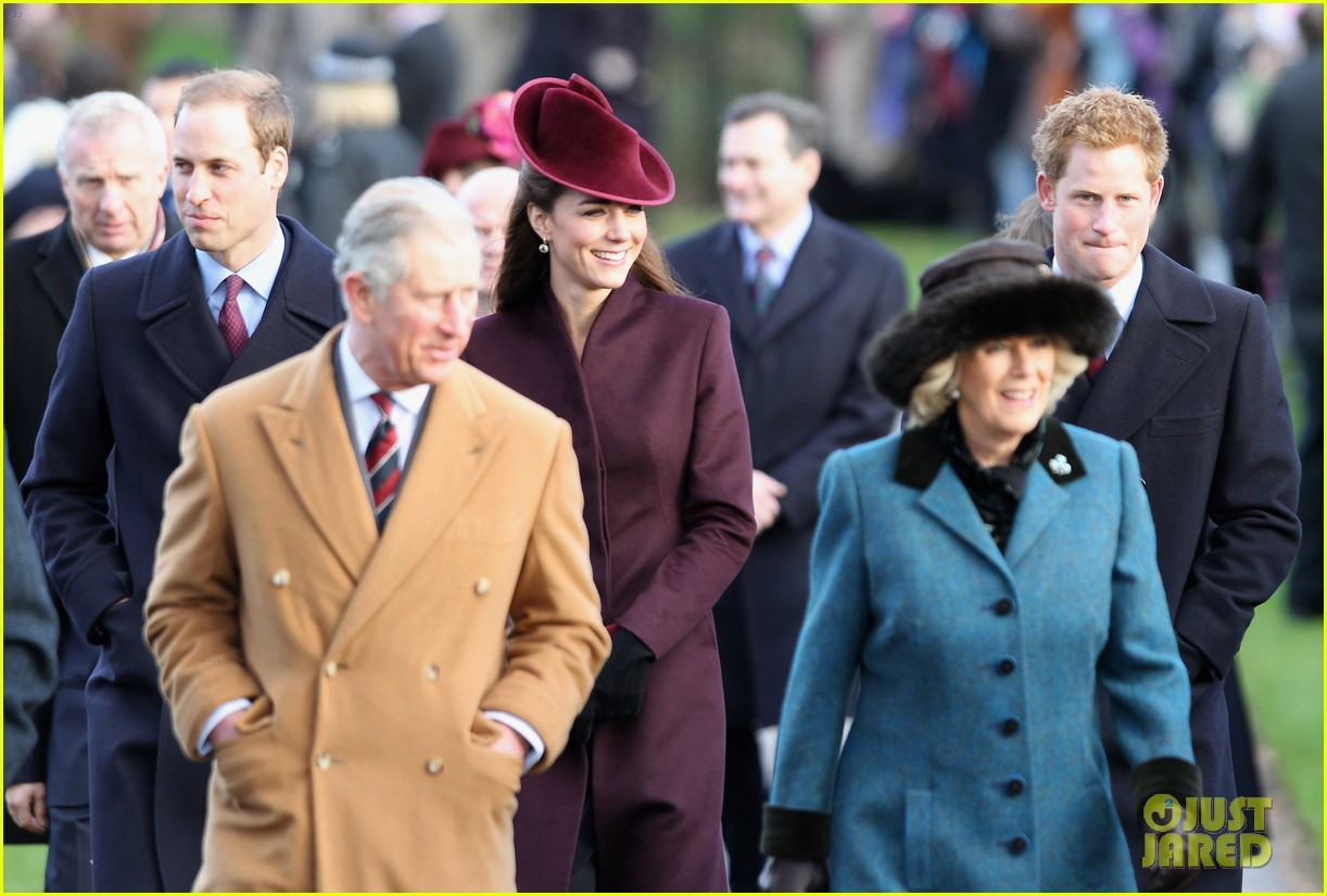prince william kate christmas day service 032612431