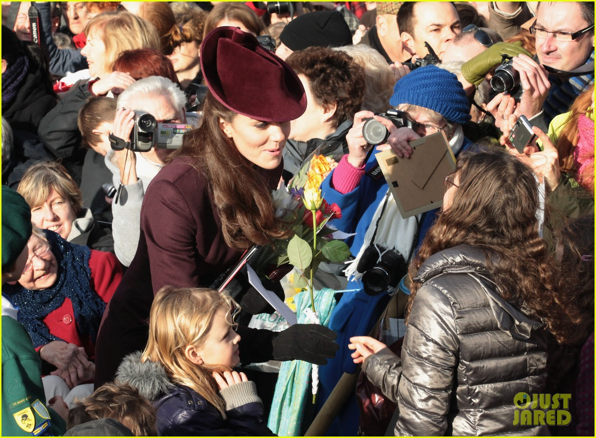 prince william kate christmas day service 17