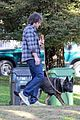 ben affleck morning dog jog 11