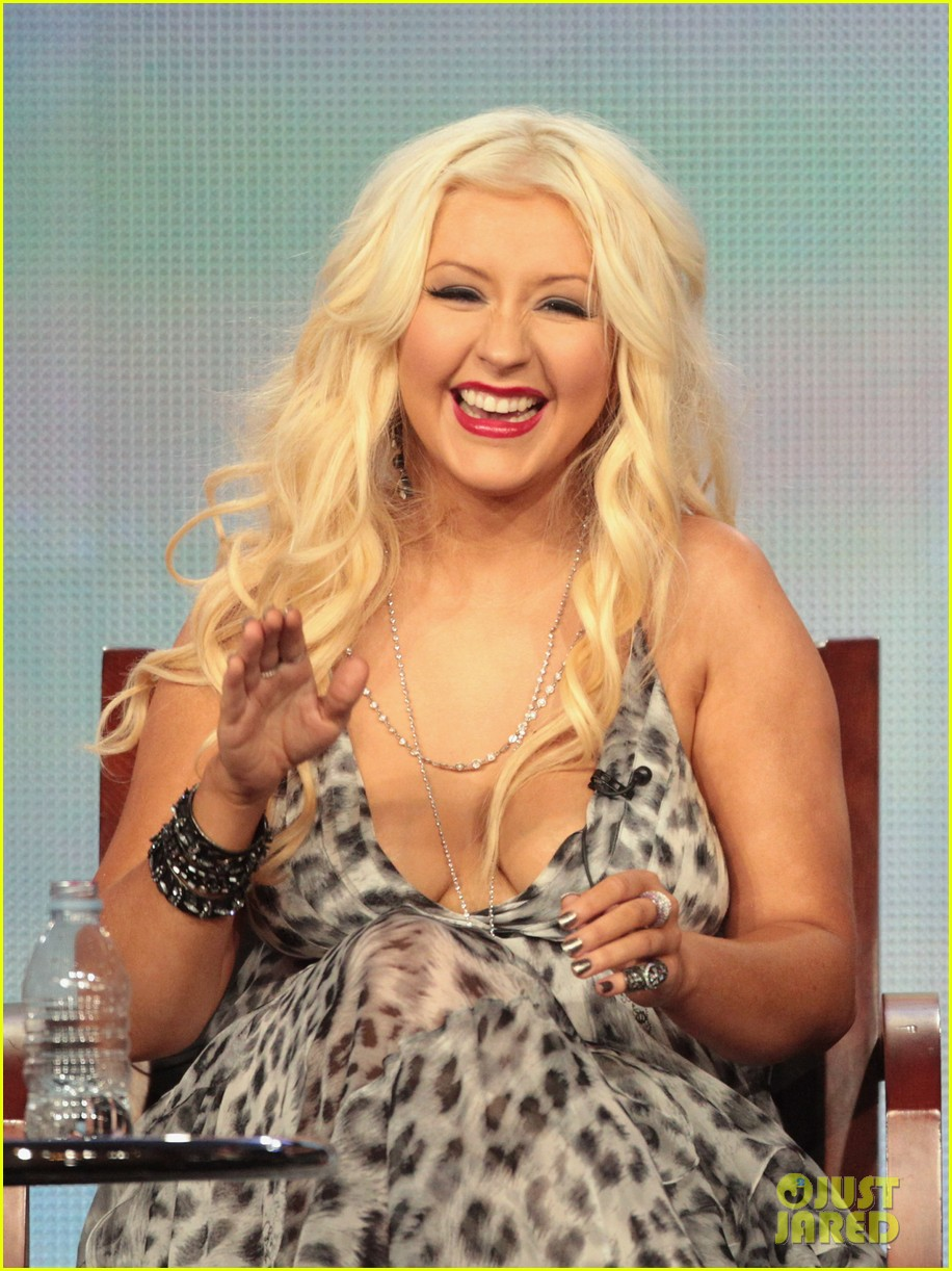christina aguilera tca the voice judges 012615032