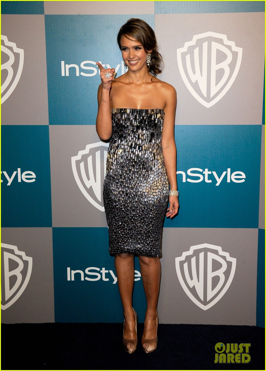 jessica alba golden globes after party 022618897