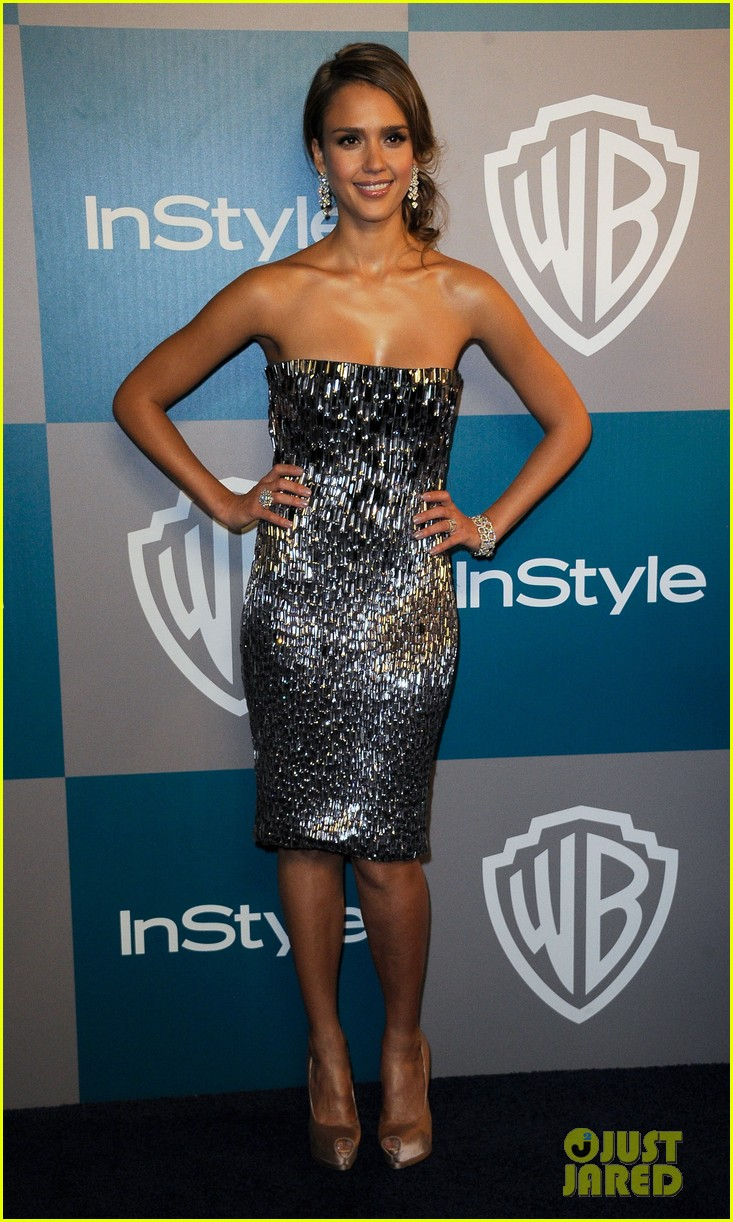 jessica alba golden globes after party 042618899