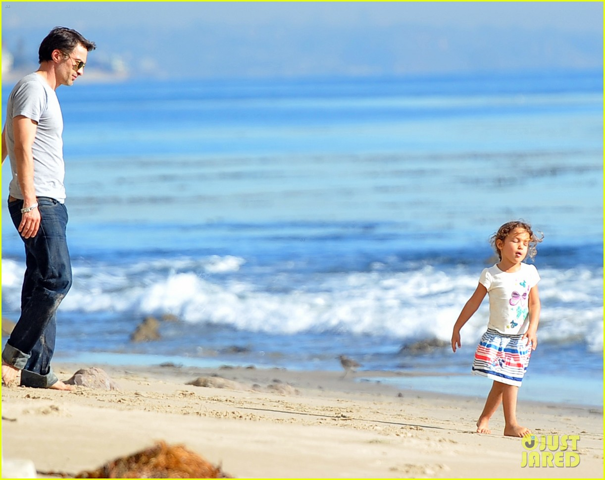 olivier martinez nahla aubry beach 052613973