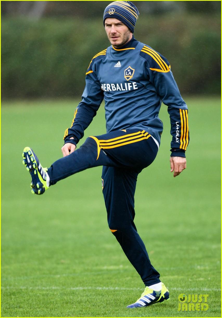 david beckham soccer practice 02
