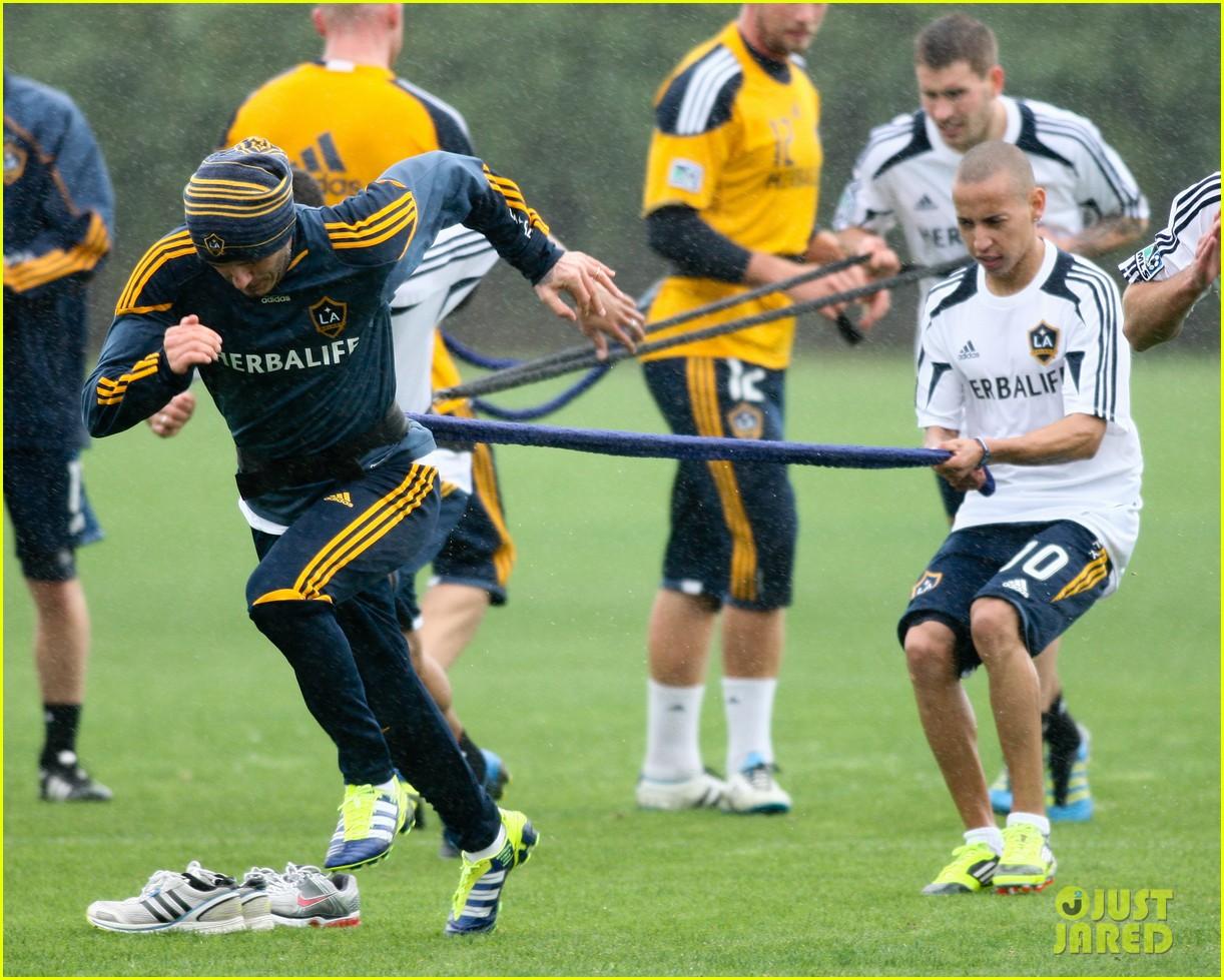 david beckham soccer practice 06
