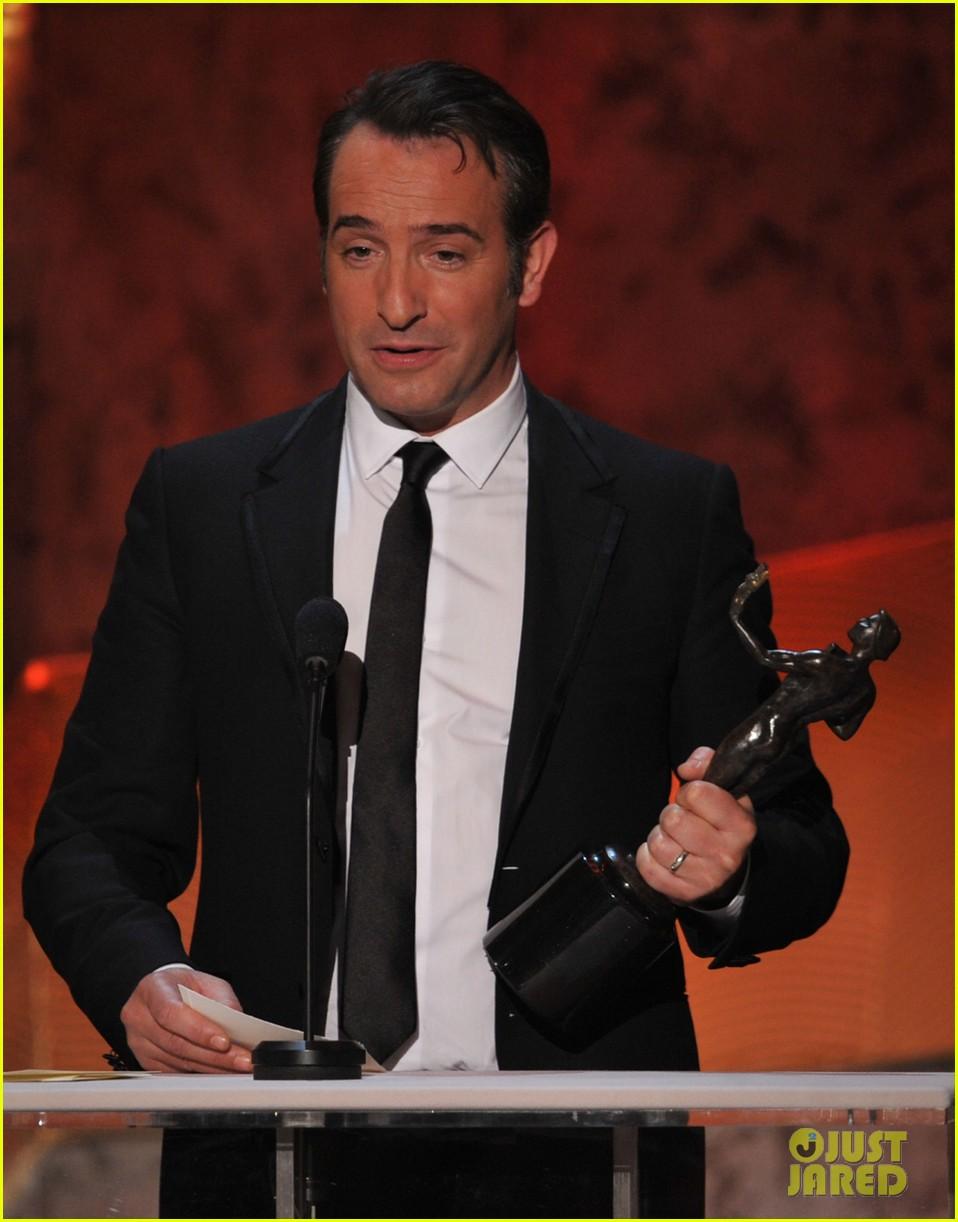 berenice bejo jean dujardin 2012 sag awards 032623633