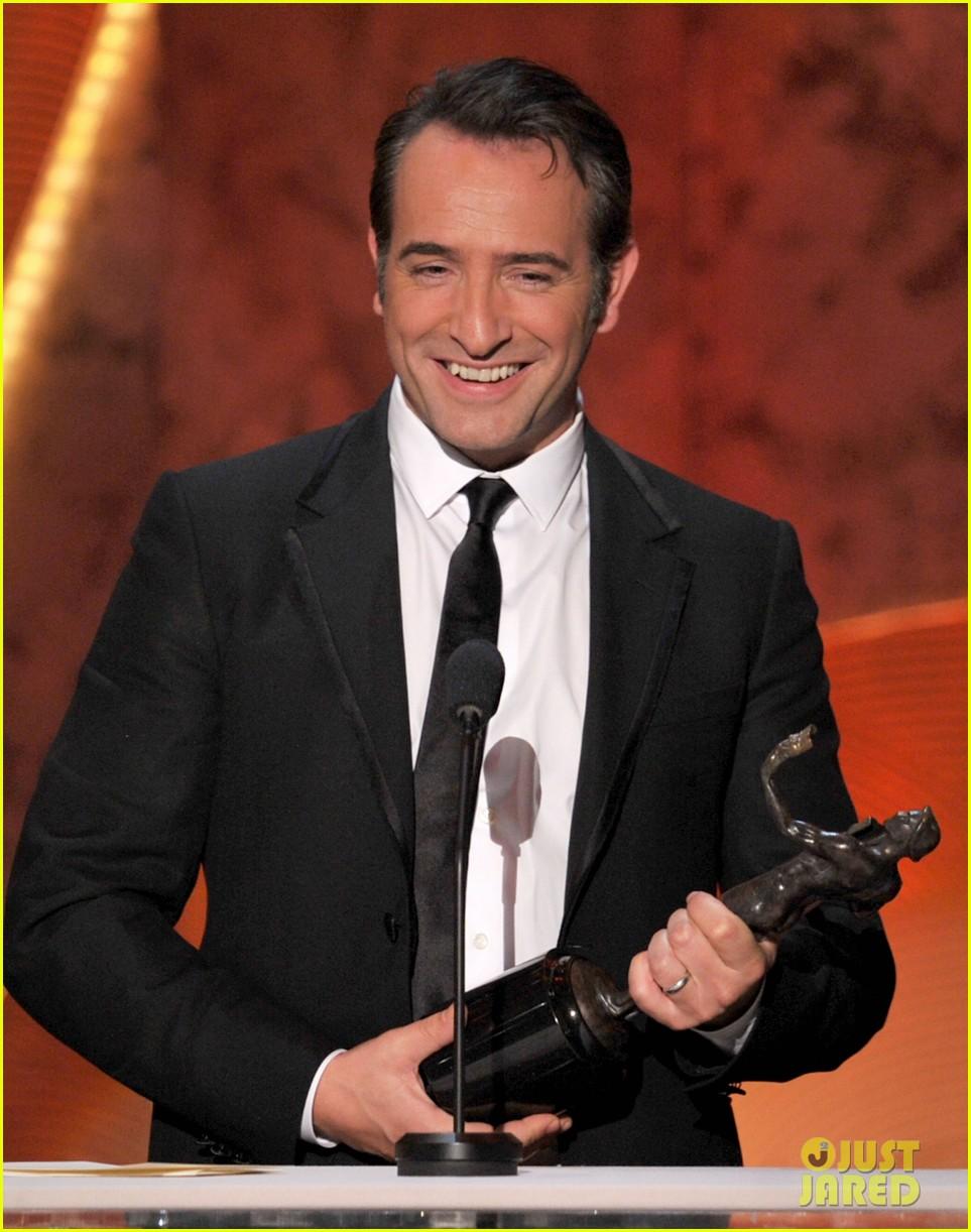berenice bejo jean dujardin 2012 sag awards 052623635