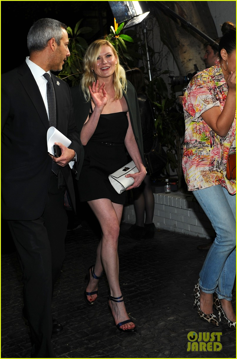 jessica biel charlize theron w mag party 09