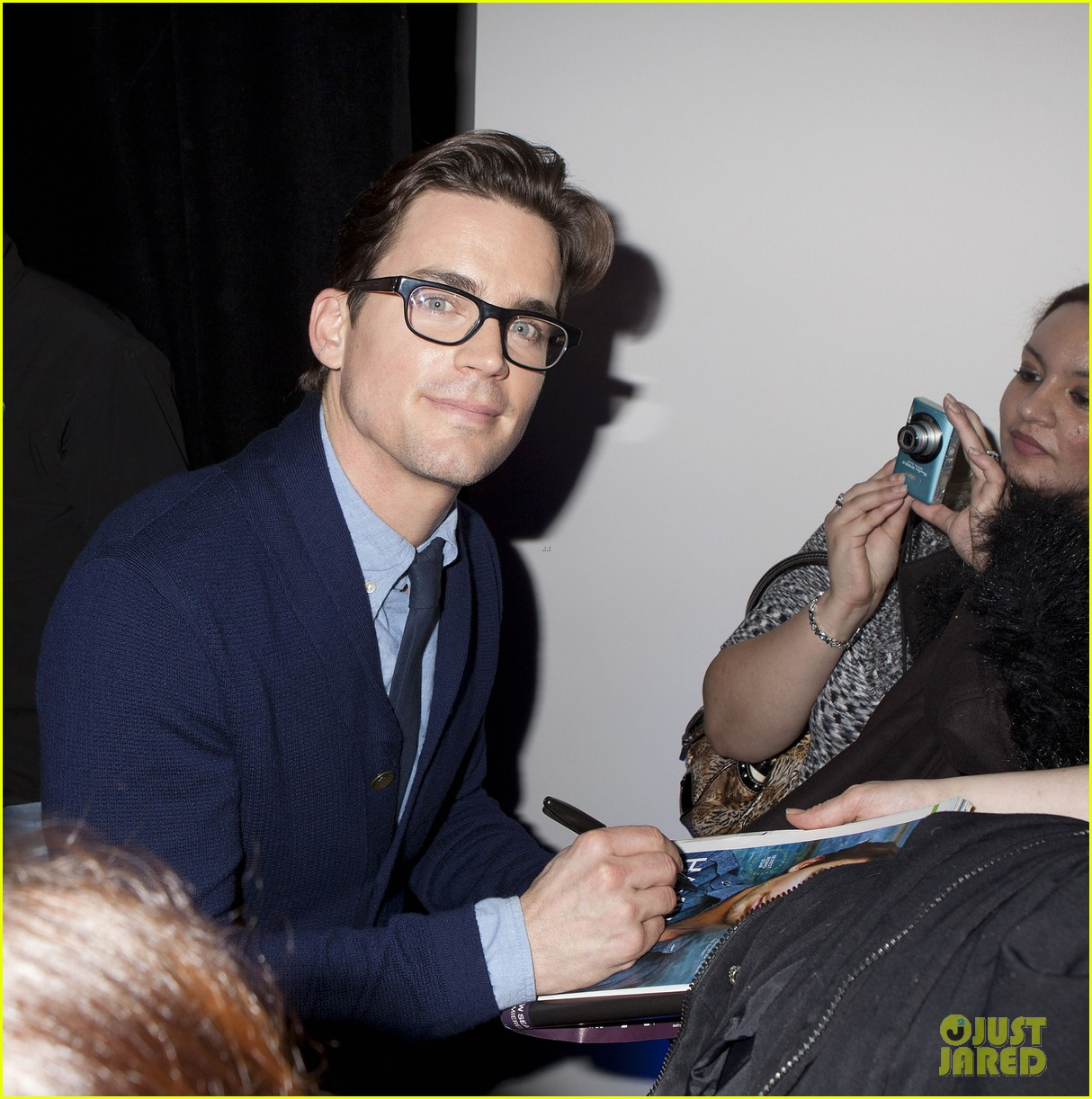 matt bomer apple store talk 012618929