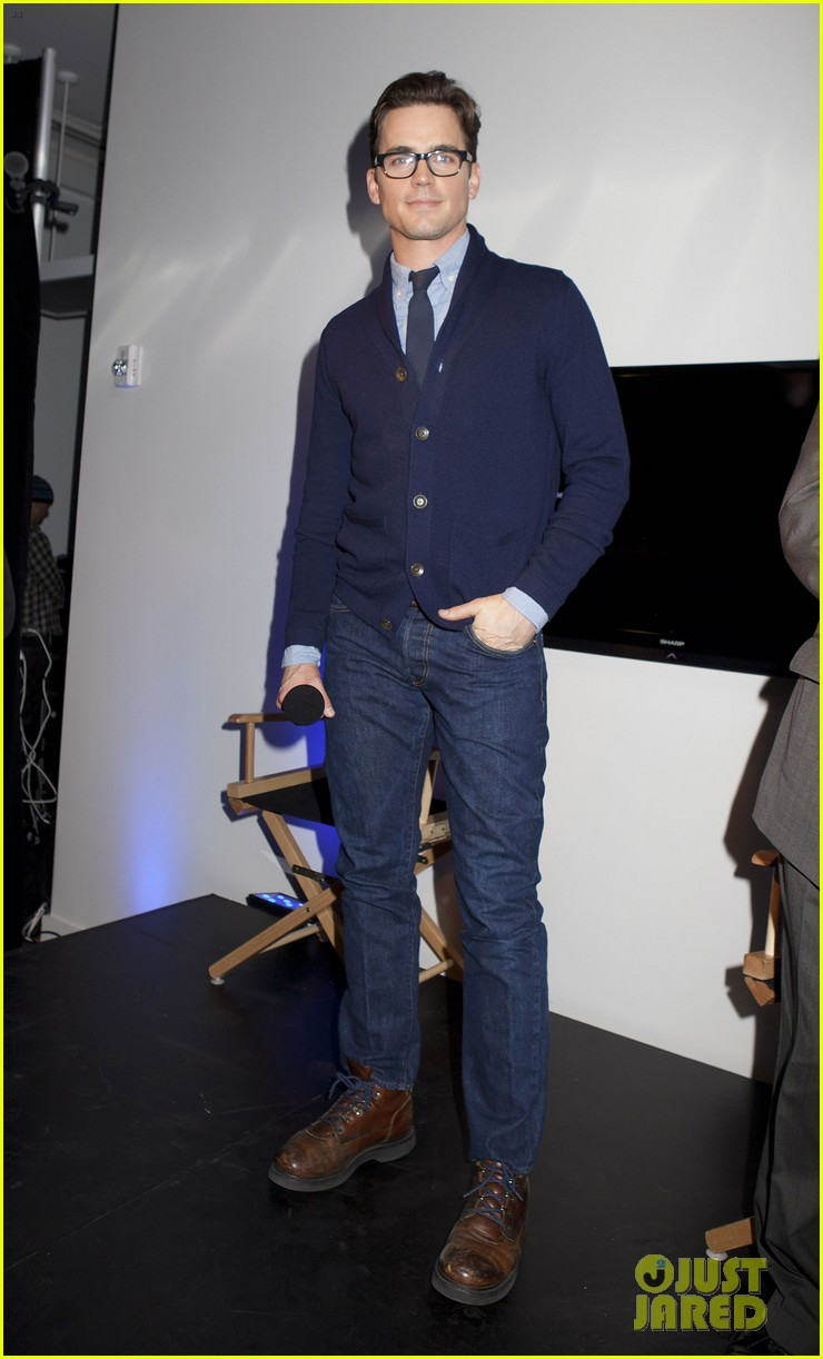 matt bomer apple store talk 022618930