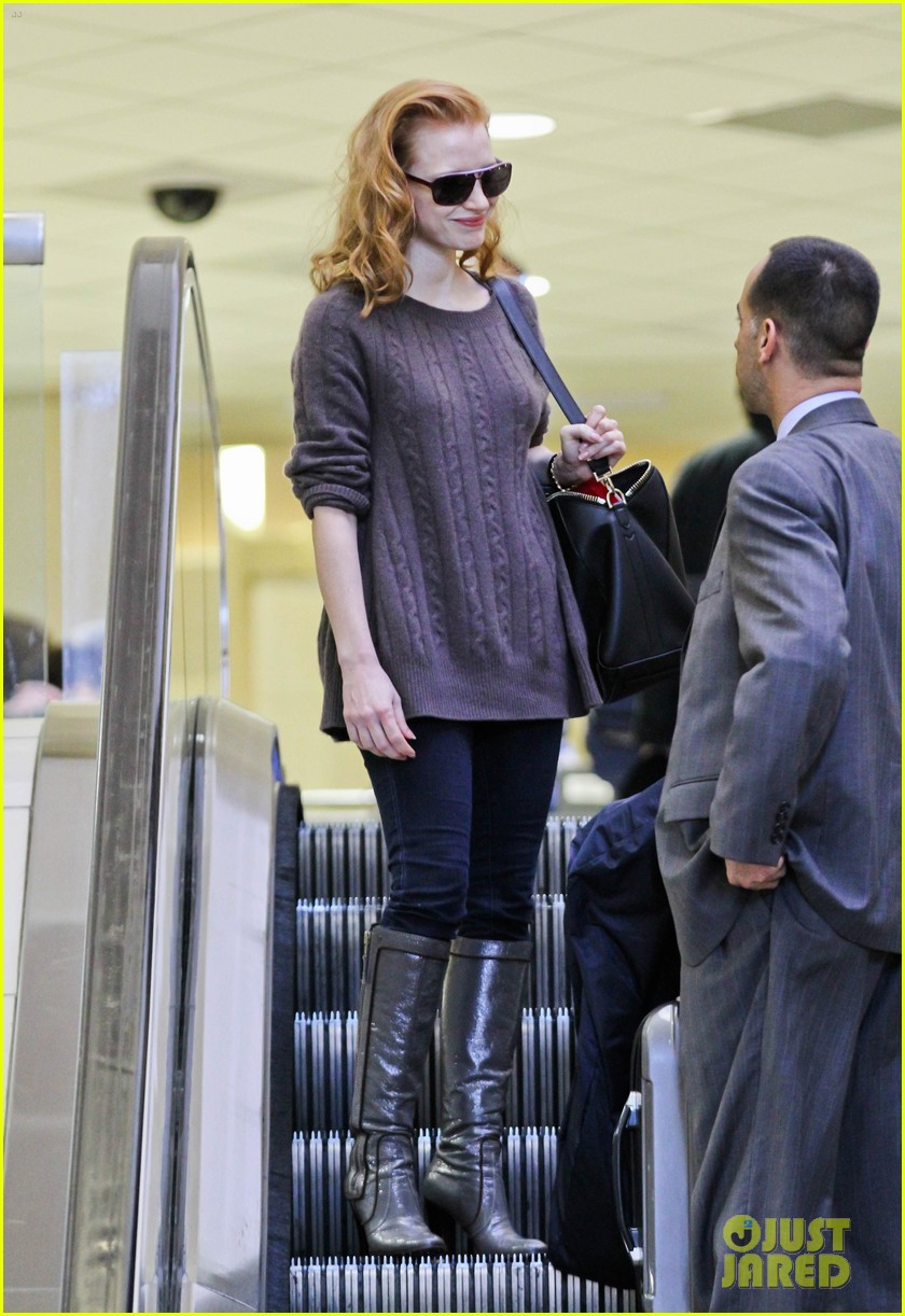 jessica chastain lax 142619604