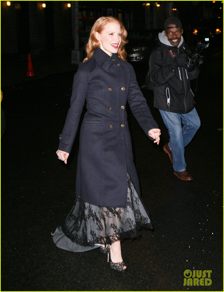 jessica chastain letterman 022619507