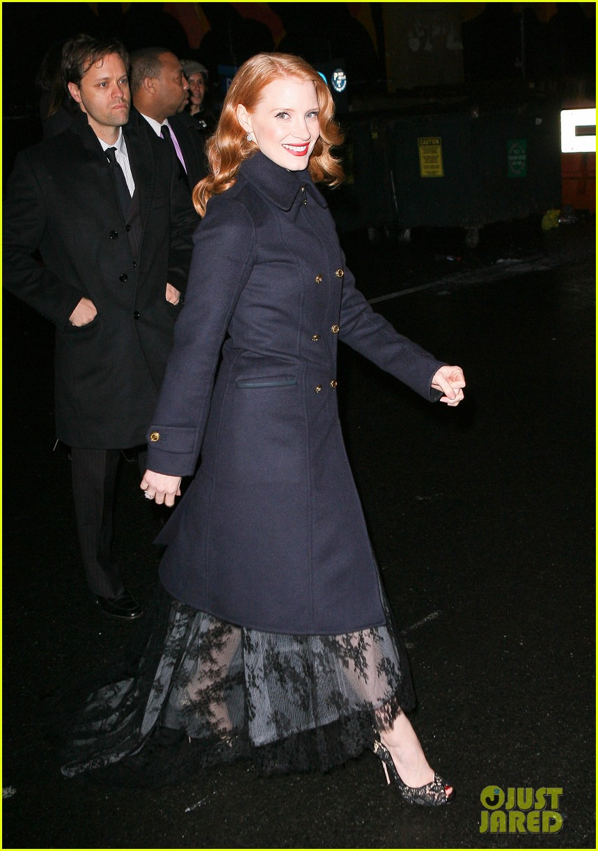 jessica chastain letterman 052619510