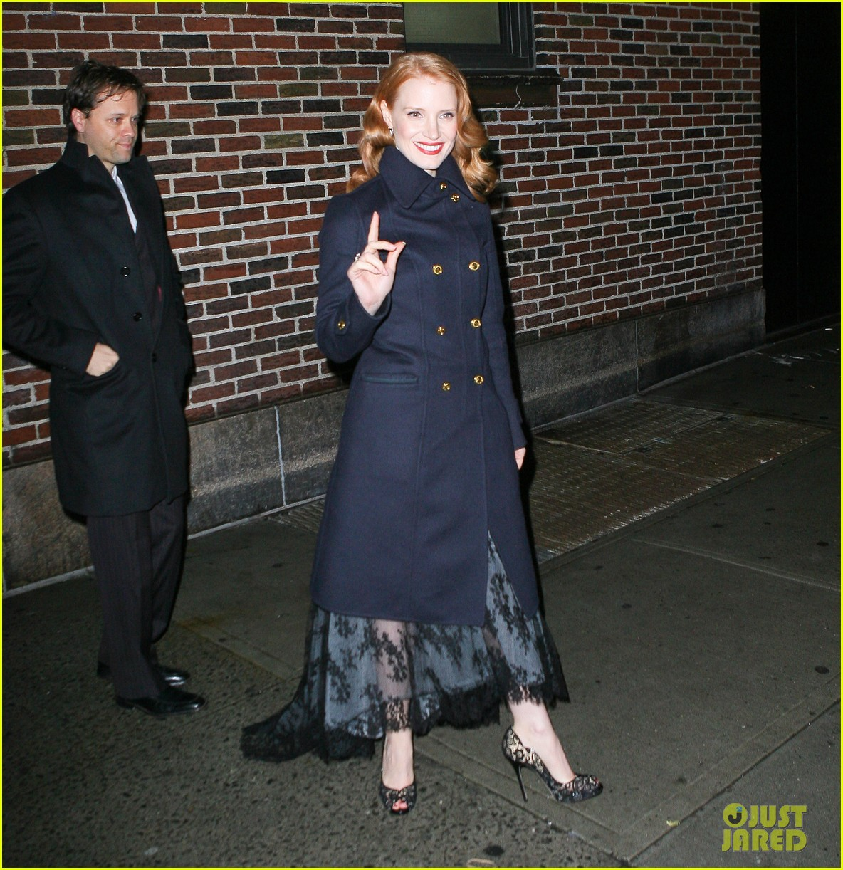 jessica chastain letterman 082619513