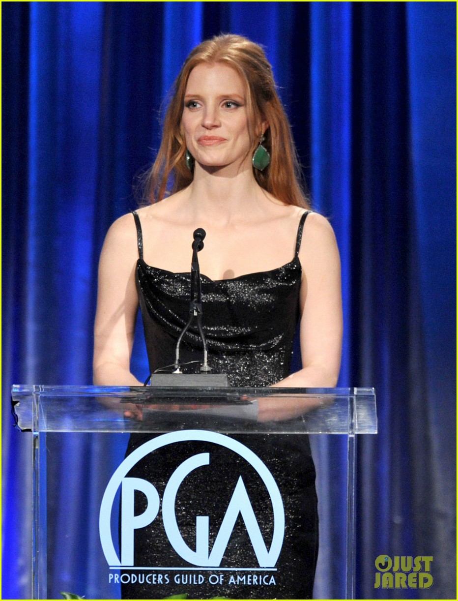 jessica chastain viola davis producers guild awards 022620562