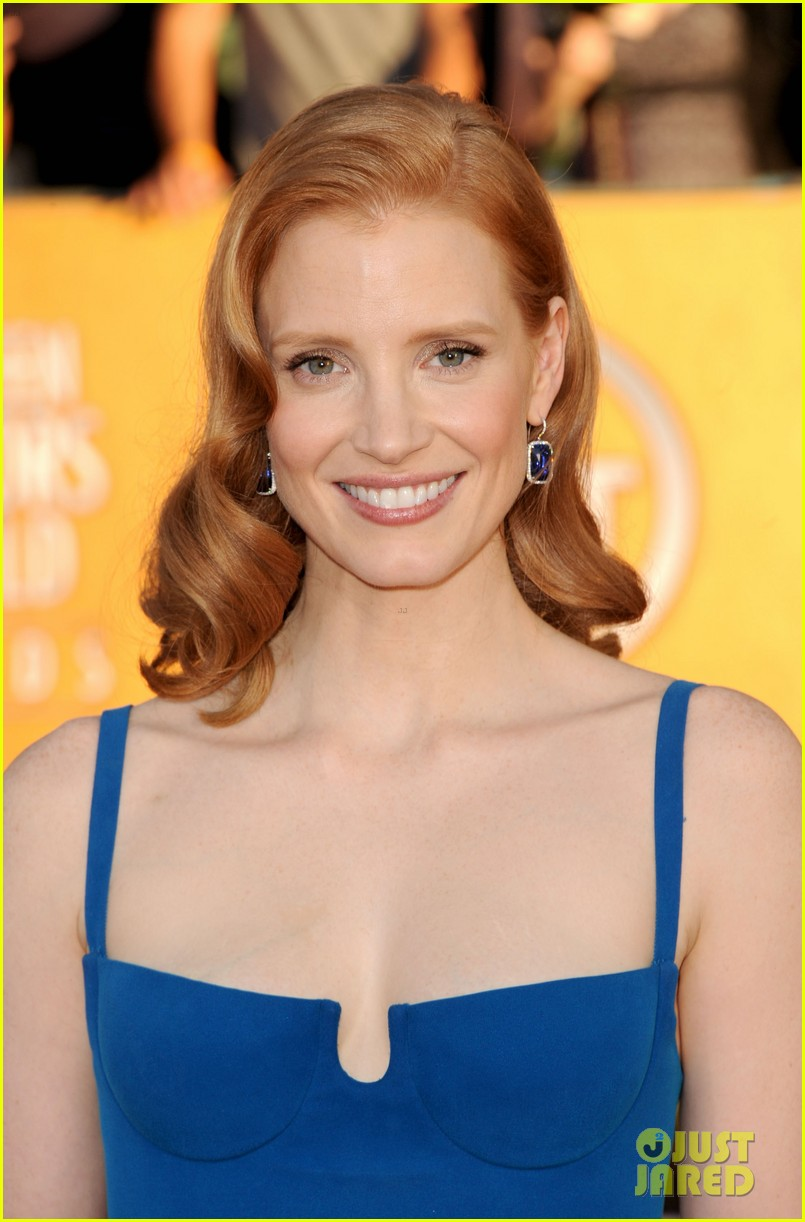 jessica chastain sag awards 2012 03