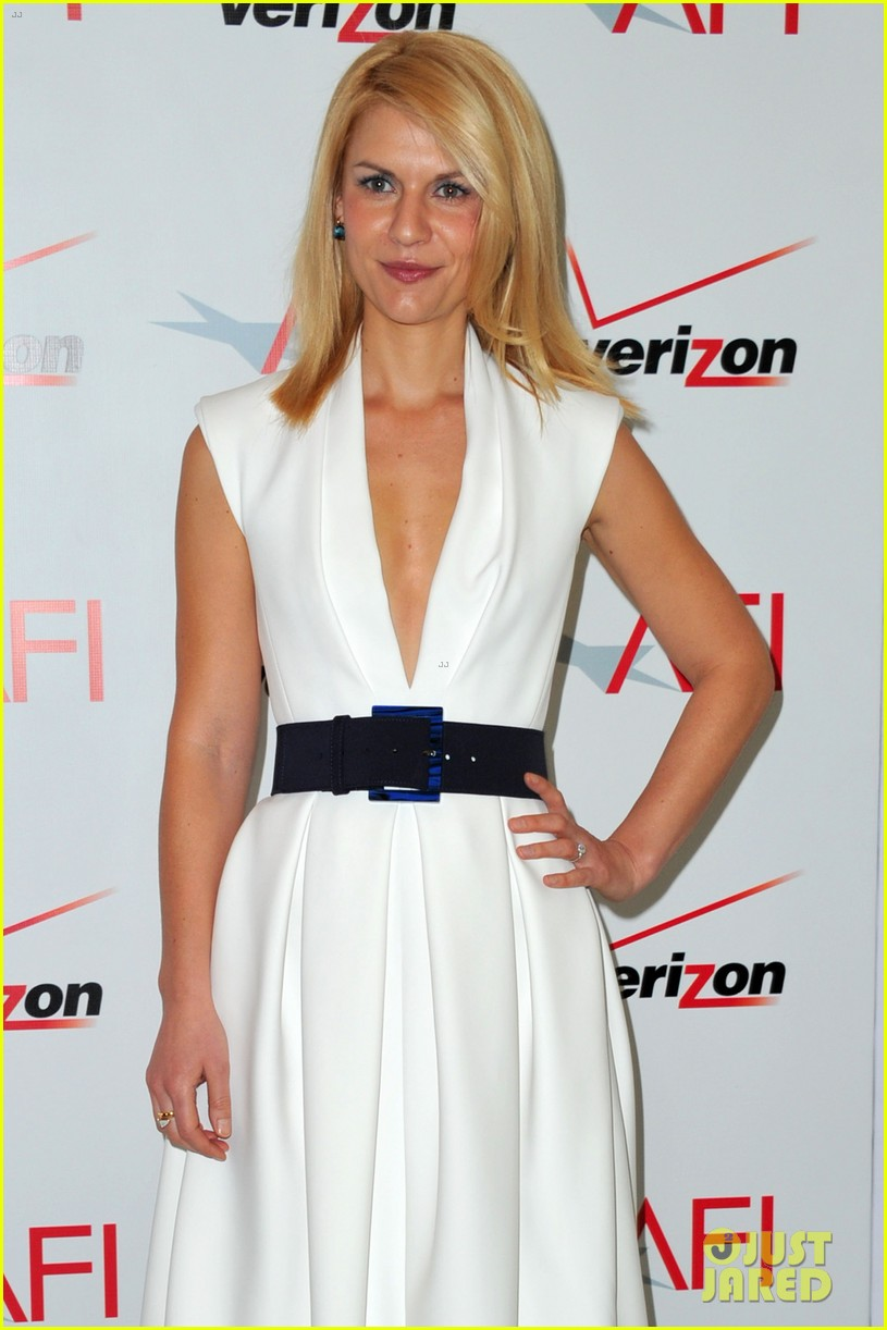 george clooney claire danes afi awards 2012 red carpet 06