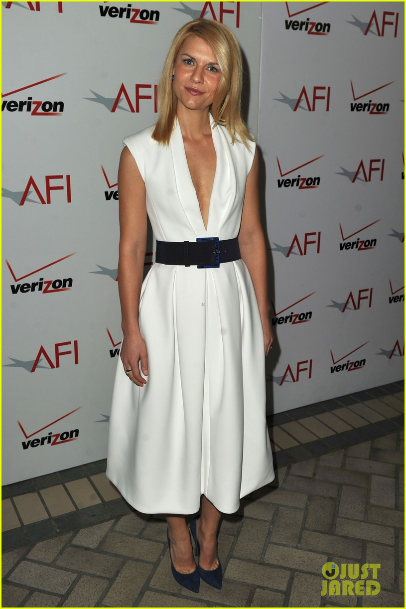 george clooney claire danes afi awards 2012 red carpet 142617361