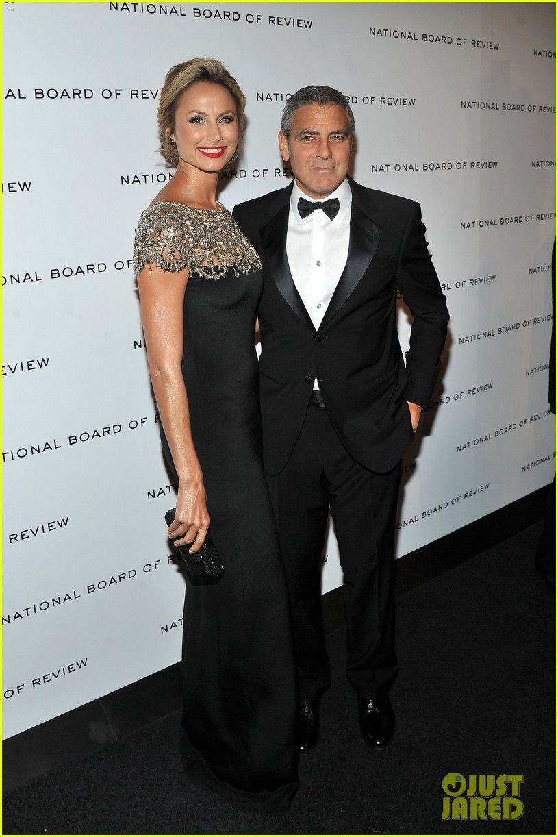 george clooney stacy keibler national board gala 012616179