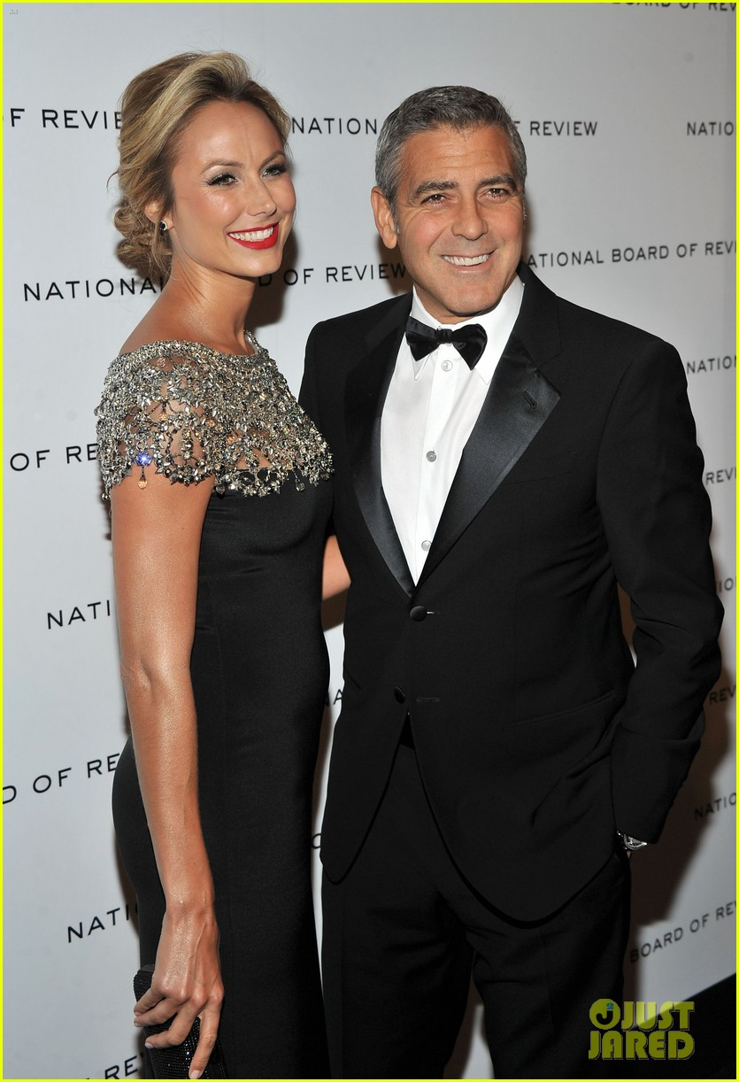 george clooney stacy keibler national board gala 06